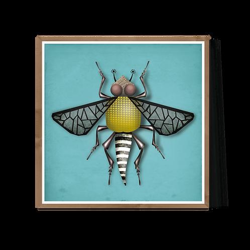 Artprint 'Brigitte Bug'