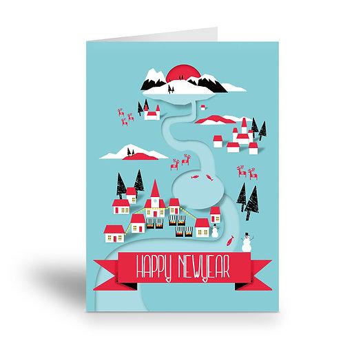 greeting card 'happy newyear'