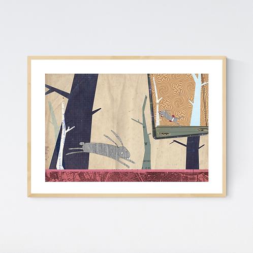 Artprint 'Animalschool 3'