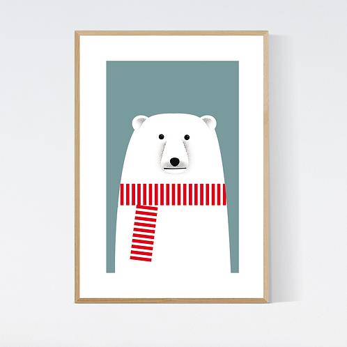 Artprint 'Albrecht Polarbear'