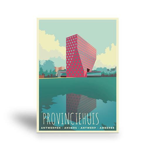 postcard 'Antwerp vintage - provinciehuis'