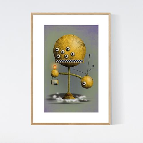 Artprint 'Robot 4'