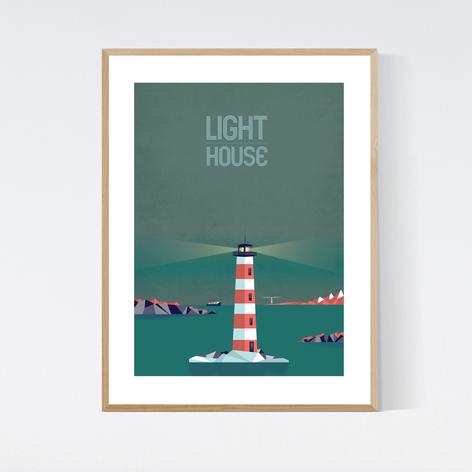 LIGHT HOUSE - NIGHT