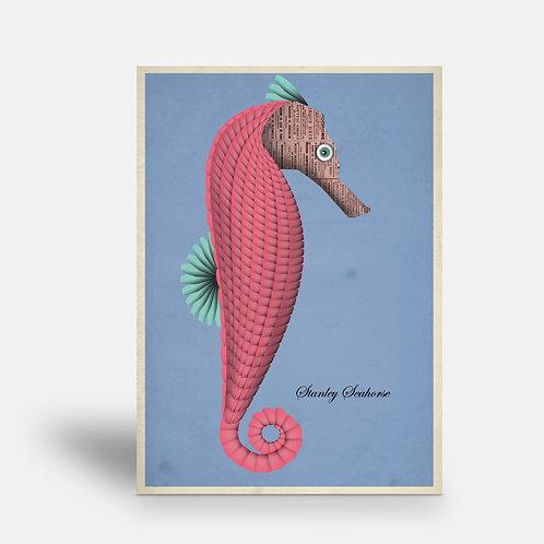 postcard 'Stanley Seahorse'