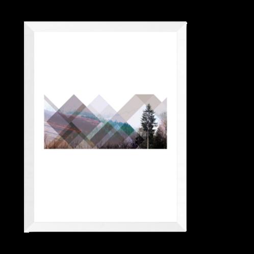 Artprint 'Nordik - Skogen'
