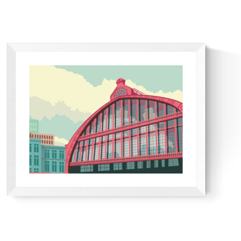 Artprint 'Centraal Station Antwerpen 2'