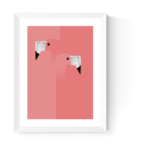 Artprint 'Flamingo'