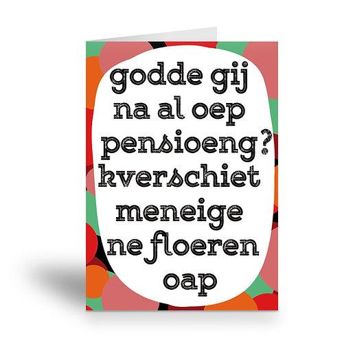 greeting card 'ne floeren oap'