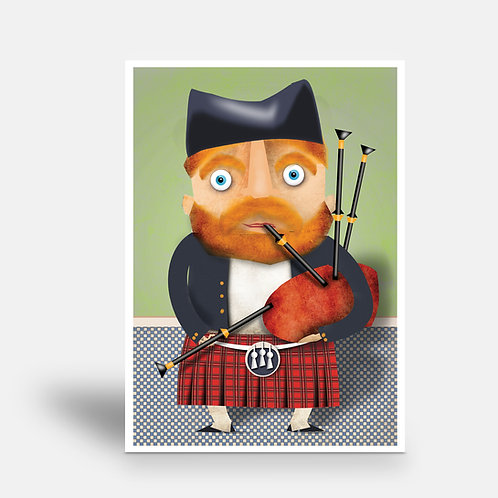 postcard 'M. MacIver'