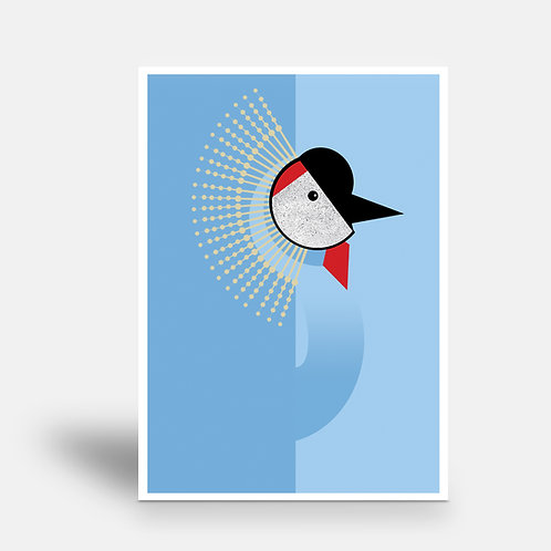 postcard 'crane'