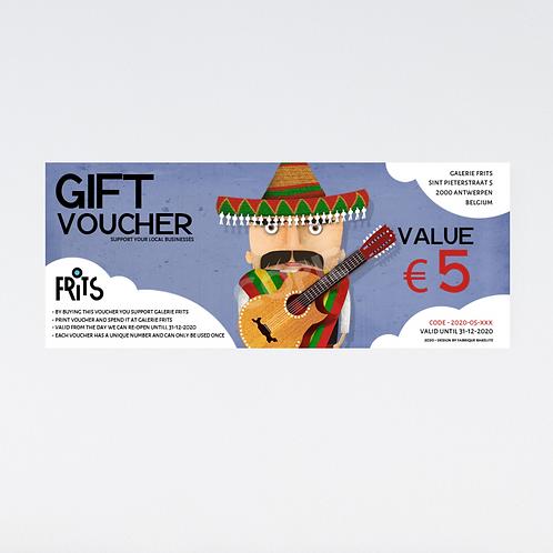 Gift Voucher 'Senor Gonzales'