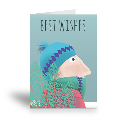 greeting card 'best wishes' version 1
