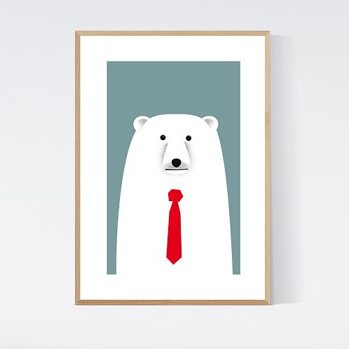 Artprint 'Gunther Polarbear'
