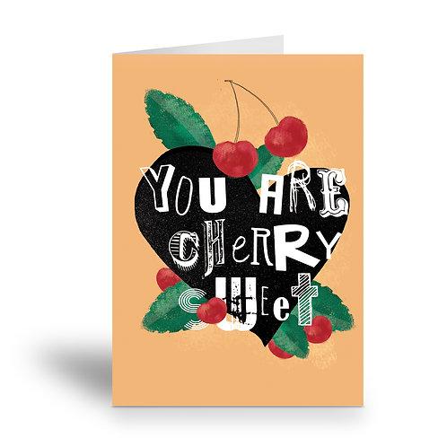 greeting card 'sweet valentine' 2
