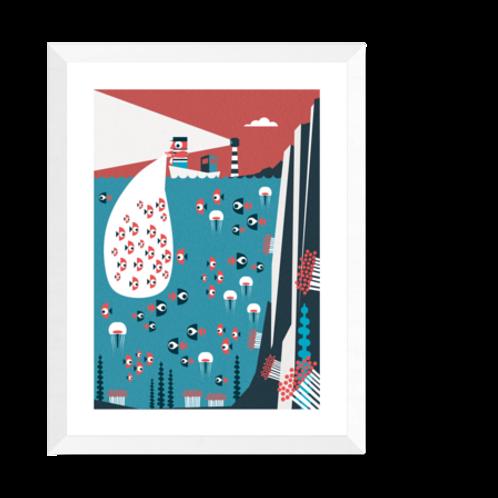 Artprint 'Fisherman'