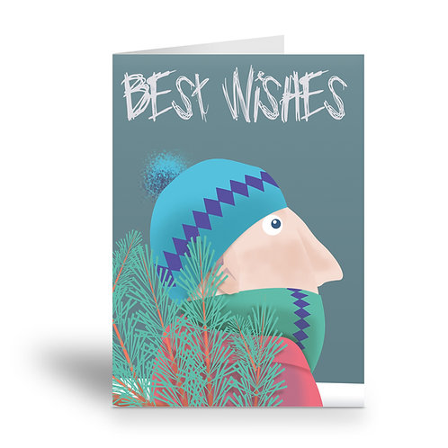 greeting card 'best wishes' version 2