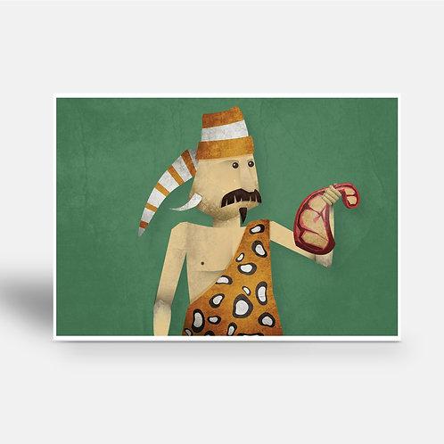 postcard 'Giorgio Stromboli'