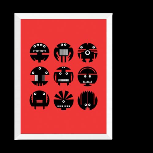 Artprint 'Robots'