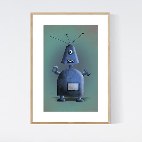 Artprint 'Robot 1'