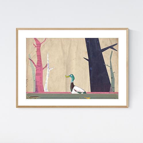 Artprint 'Animalschool 2'