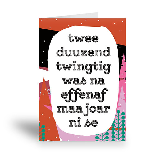 greeting card 'effenaf maa joar ni'