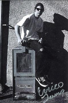 Enrico James Newspaper Stand