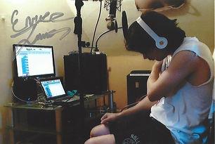Enrico James Recording Session