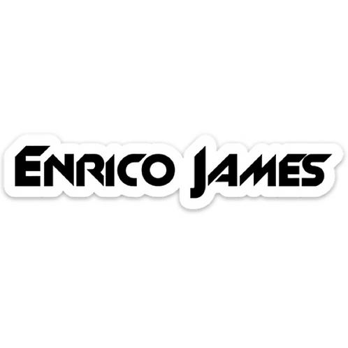 Enrico James Sticker