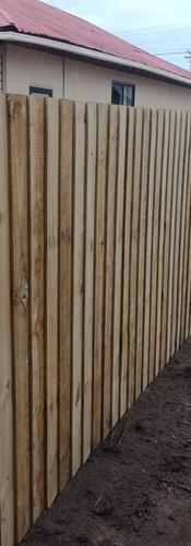 New 1.8m High Single Overlap Boundary Fence