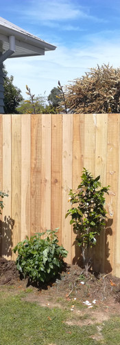 Small 1.8m Single Overlap Fence to Secure Yard