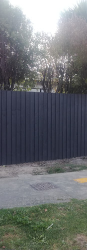 New 1.8m Single Overlap Front Fence