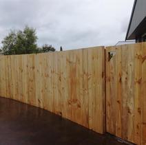 1.8m Single Overlap Paling Fence