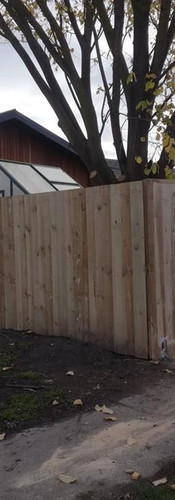 Construction of New 1.8m High Front Frence and Boundary Fence
