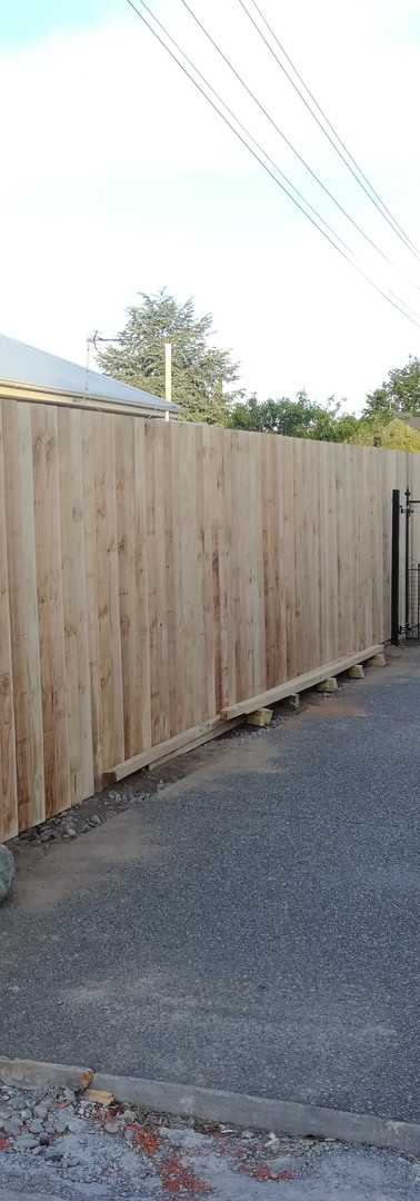 New 2.0m Single Overlap Boundary Fence