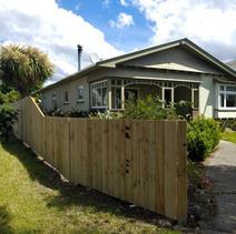 1.2 to 1.8 Single Overlap Paling Fence