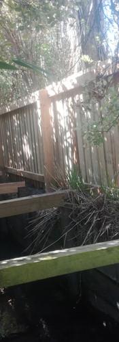New 1.2m High Single Overlap Fence