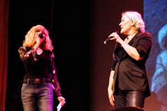 Amber shares the stage with Paula Cole at the Suffolk Theater, Riverhead, NY.
