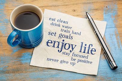 eat clean, set goals