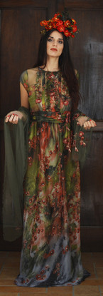 The courage to be Frida   Floral Dress