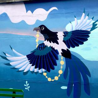 Gardiner St Flats mural