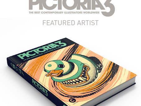 Pictoria Volume.3 is available now!