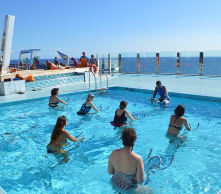 We Tried It: Aqua Cycling on MSC Divina