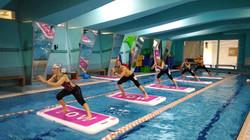fitness on water aqua board