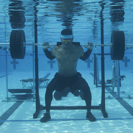 The future of sports training could be underwater