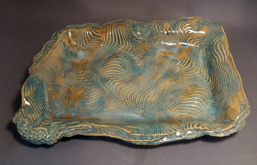 Rectangular Wave Tray