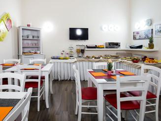 colazione abbondante hotel bruman salerno