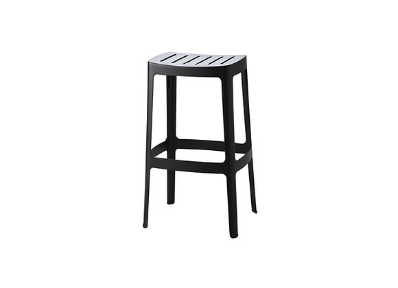 Cut bar chair, high, stackable (11402)