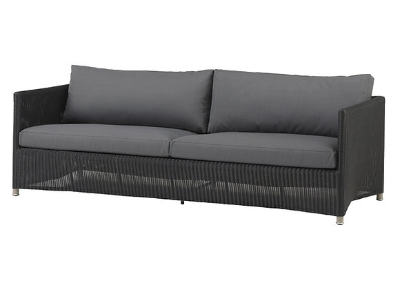 Diamond 3-seater sofa, Weave (8503)