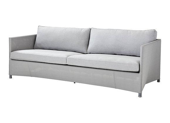Diamond 3-seater sofa, Tex & Cane-line Natté (8503)