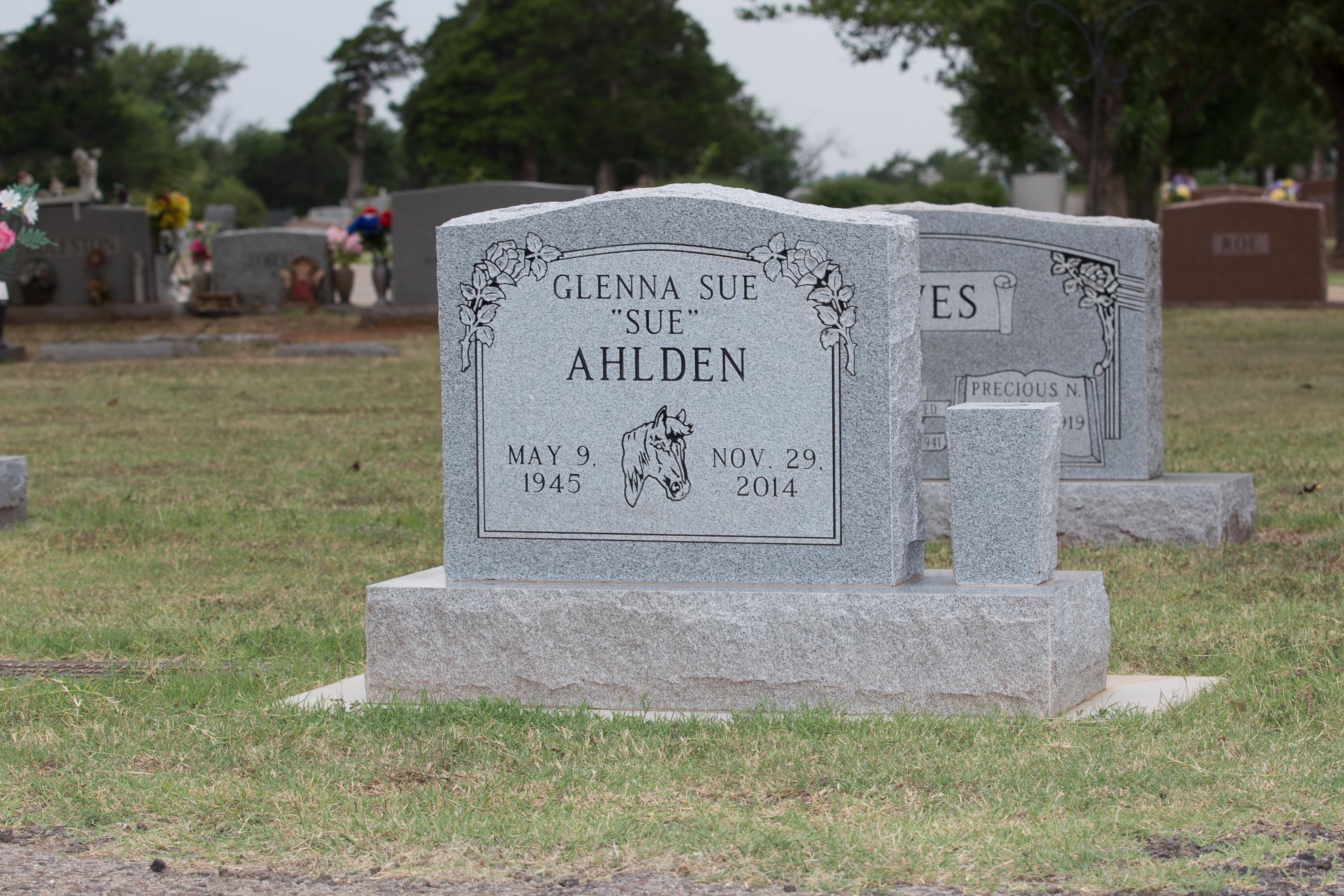 Georgia Gray Granite Headstone